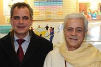 Visita de S.E. Jorge Roza de Oliveira - Embaixador de Portugal na Índia