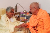 Meeting with B.K. Dadi Janki - Brahma Kumaris, Mount Abu, India - 2011