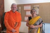 Encontro com Smt. Hansaji Jayadeva Yogendra
