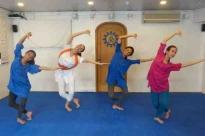Aulas de Bháratanathyam ministradas pela Kalakshetra Foundation em Portugal, 2014