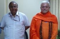 Reunião com o Secretário do Departamento AYUSH - Shrí Nilanjan Sanyal - Índia, Dillí - 2014, Outubro, 10