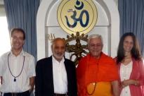 Visita de Dr. Abdool Vakil - Presidente da Comunidade Islâmica de Lisboa -