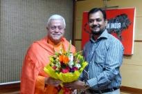 Reunião com Dr. Ravi P. Singh, Secretário Geral do Quality Council of India, New Dillí - 2016, Maio