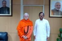 Reunião com S.E. o Ministro do Yoga da Índia - Índia - 2016, Maio
