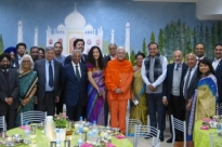Meeting with the Delegation of the Indian Parlamentary Goodwill - Rádhá Krshna Temple - 2016, October, 17th