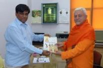 Reunião com o Director do Yoga do Departamento AYUSH - Dr. Ishwar Basavaraddi