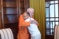 Encontro com Shrí Chandra Mohan Bhandari - Ex-embaixador da Índia - Polónia, Sulisław - 2013, Julho