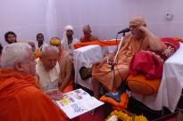 Meeting with H.H Jagadguru Svámin Nischalánanda Sarasvatí - Shankaracharya of Puri