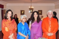 Meeting with the Ambassador of Índia Mrs. K. Nandini Singla and the Secretary of the Foreign Affairs of India Ms. Sujata Mehta - Belém, 2016, Dec,12