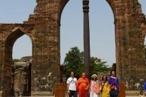 Iron Pilar, Qutb Minar & Jantar Mantar, New Dillí, Índia - 2017, Junho