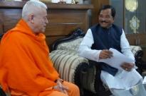 Encontro com S.E. o Ministro do Yoga da Índia - Índia - 2015, Março