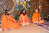 Encontro com H.H. Pujya Svámin Chidanand Sarasvatiji Maharaj