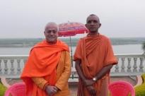 Rencontre avec Svāmin Sūryaprakash and Svāmin Niranjanānanda