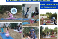 YOGA AT THE ANNIVERSARY OF THE NATURE PROTECTION LEAGUE