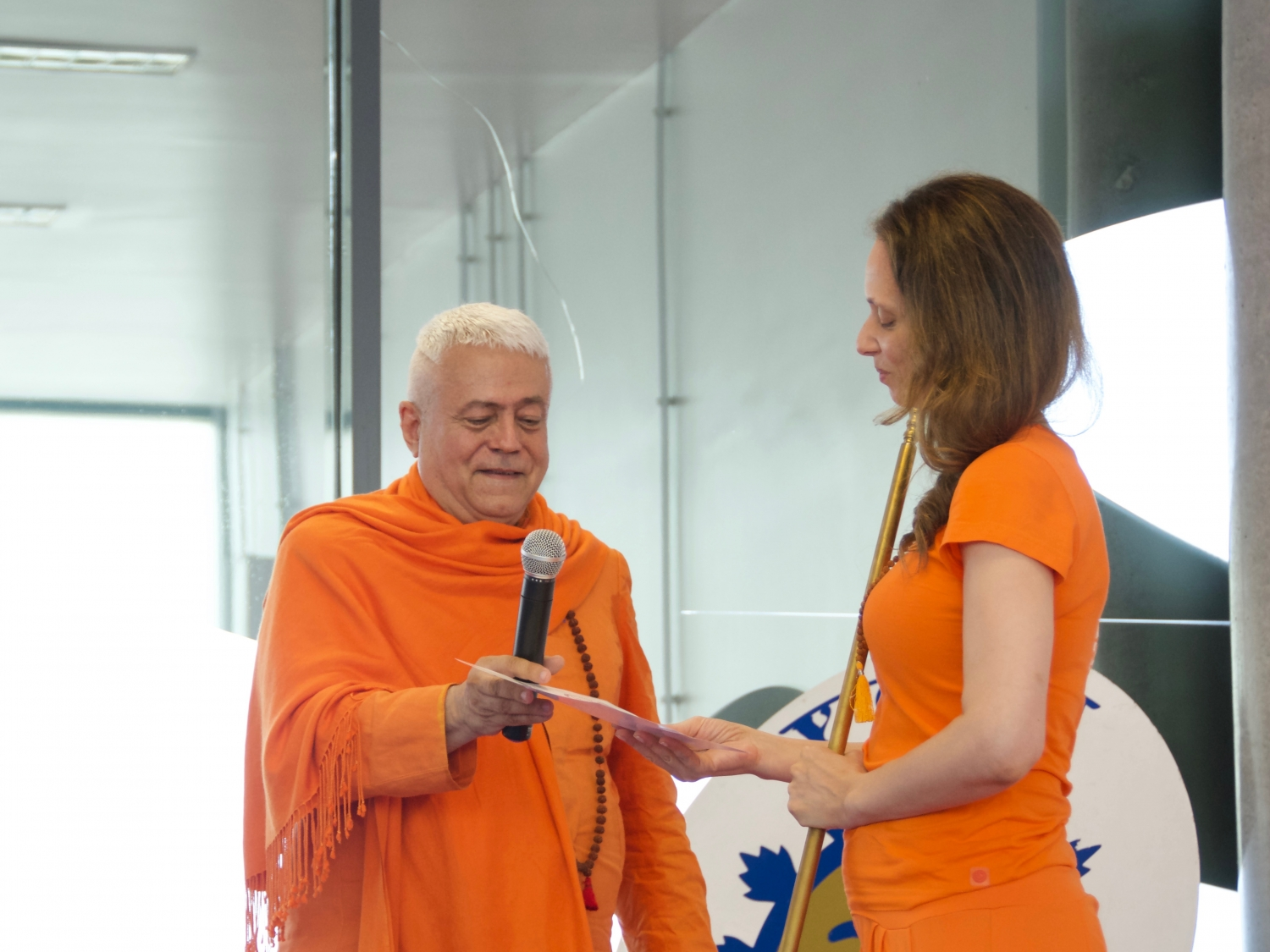IDY - 2019, June, 23rd - Yogi of the Year Award : Master Jagat Guru Sváminí Chandra Shakti Deví Jyotishmatí