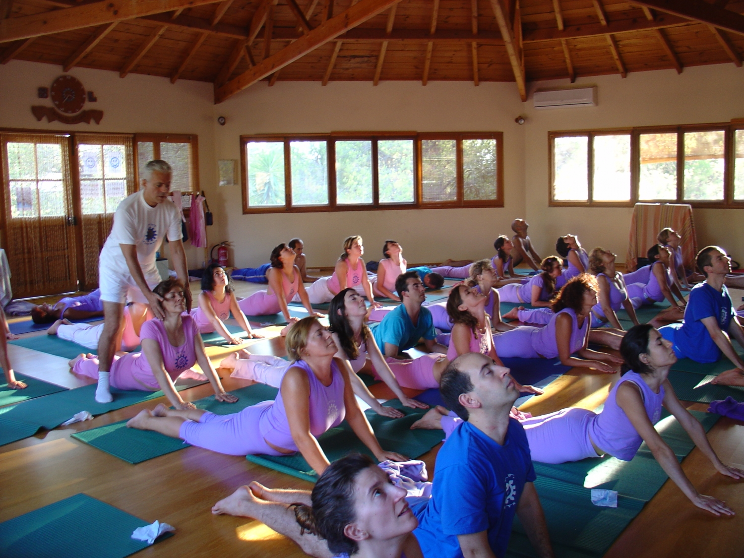 Semana Intensiva do Yoga - 2005 - Quinta da Calma, Algarve