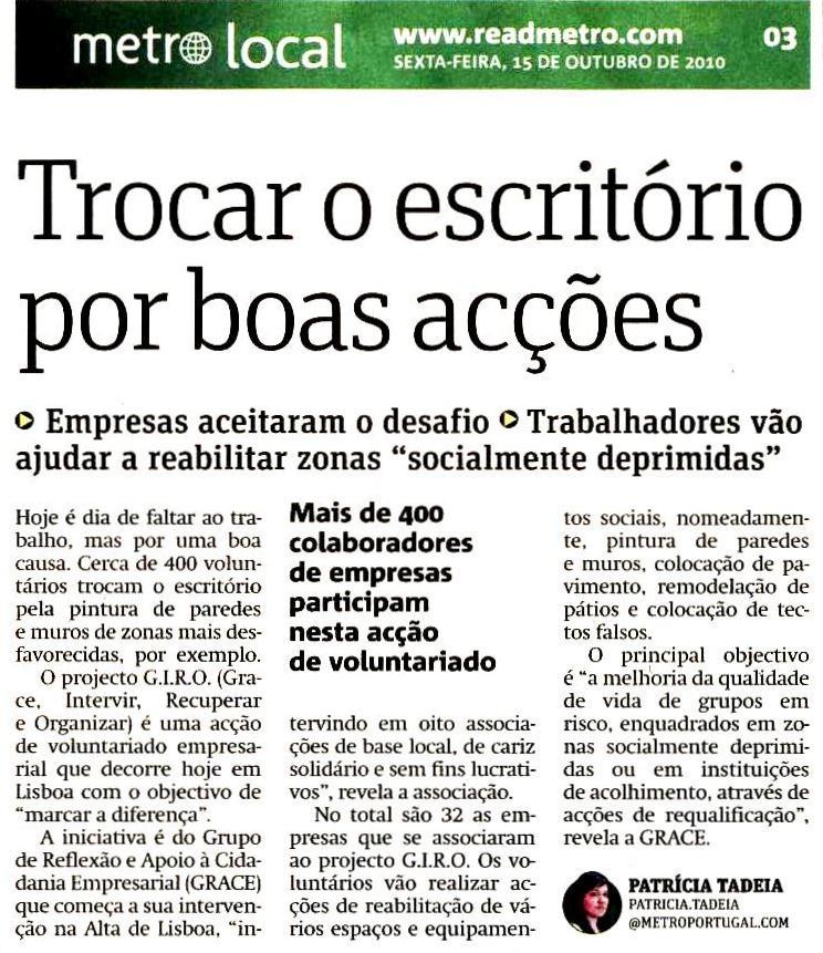 Metro, 2010.10.15