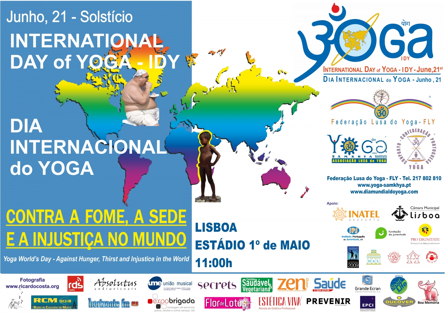 International Day of Yoga - IDY - 2009, Lisboa