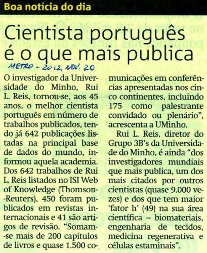 Metro, 2012.11.20