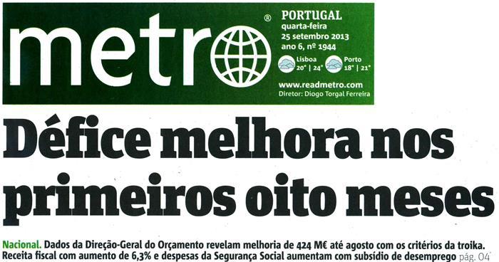 Metro, 2013.09.25