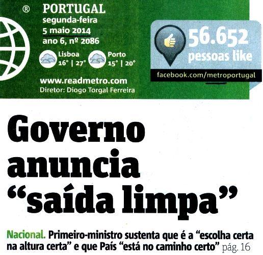 Metro, 2014.05.05