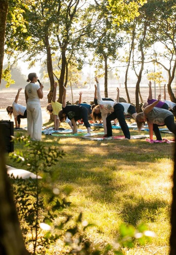 Aula do Yoga na AGROS