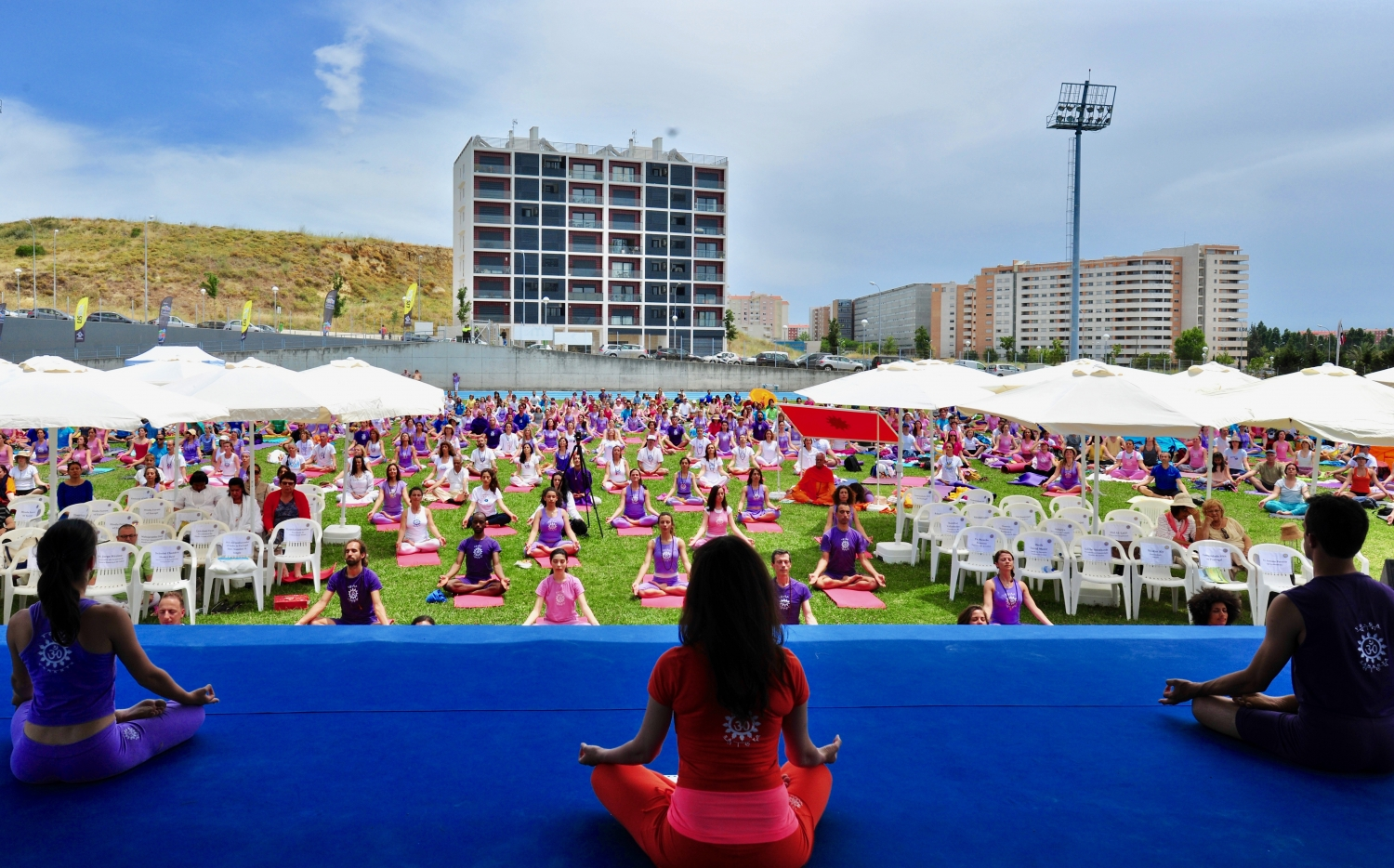 Comemoração do International Day of Yoga - IDY / Dia Internacional do Yoga - 2017 - Lisboa, Portugal