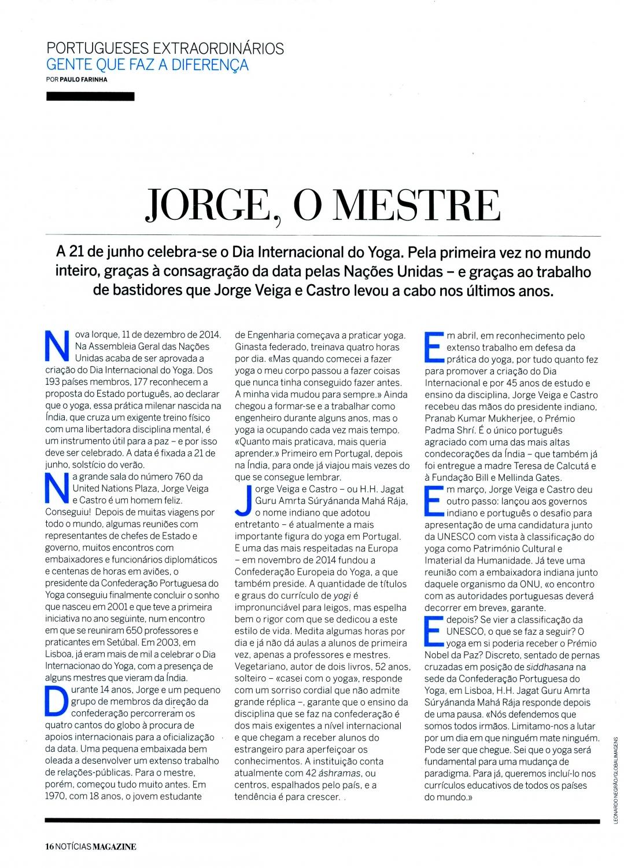 Noticias Magazine - 2015, Maio, 31 - p.1