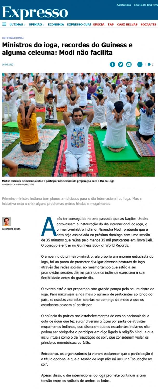 Expresso - 2015, Junho, 16