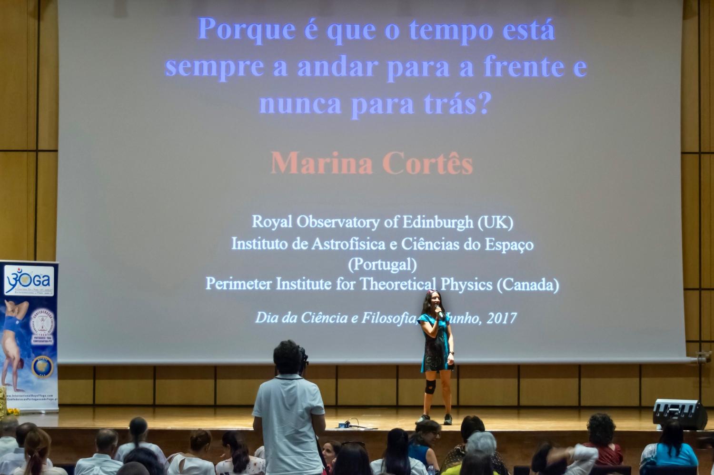 Dia do Sámkhya - da Filosofia e da Ciência - 2017 - Conferência pela Dr.ª Marina Cortes