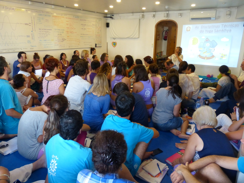 Curso de Extensão do Yoga para Crianças, 2016