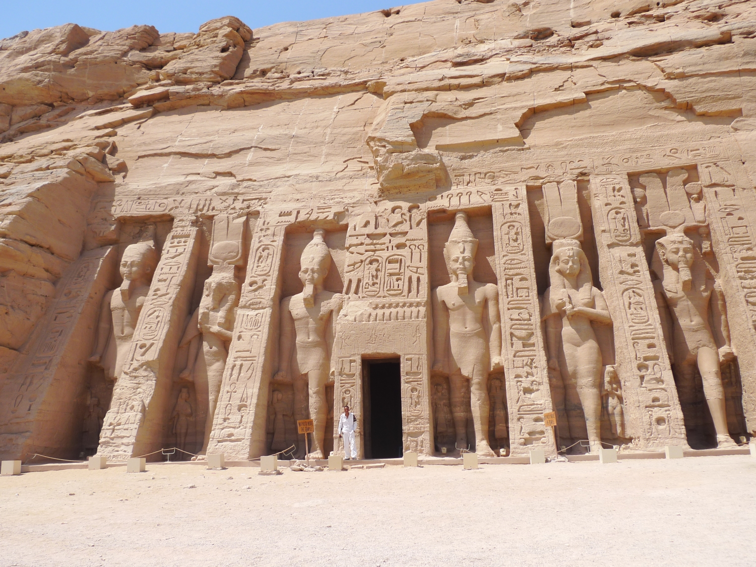 Temple of Nefertari - Abu Simbel