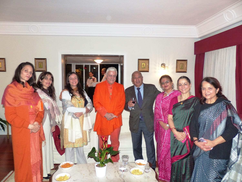 com Kantilal Jamnadas, Presidente da Comunidade Hindu de Portugal