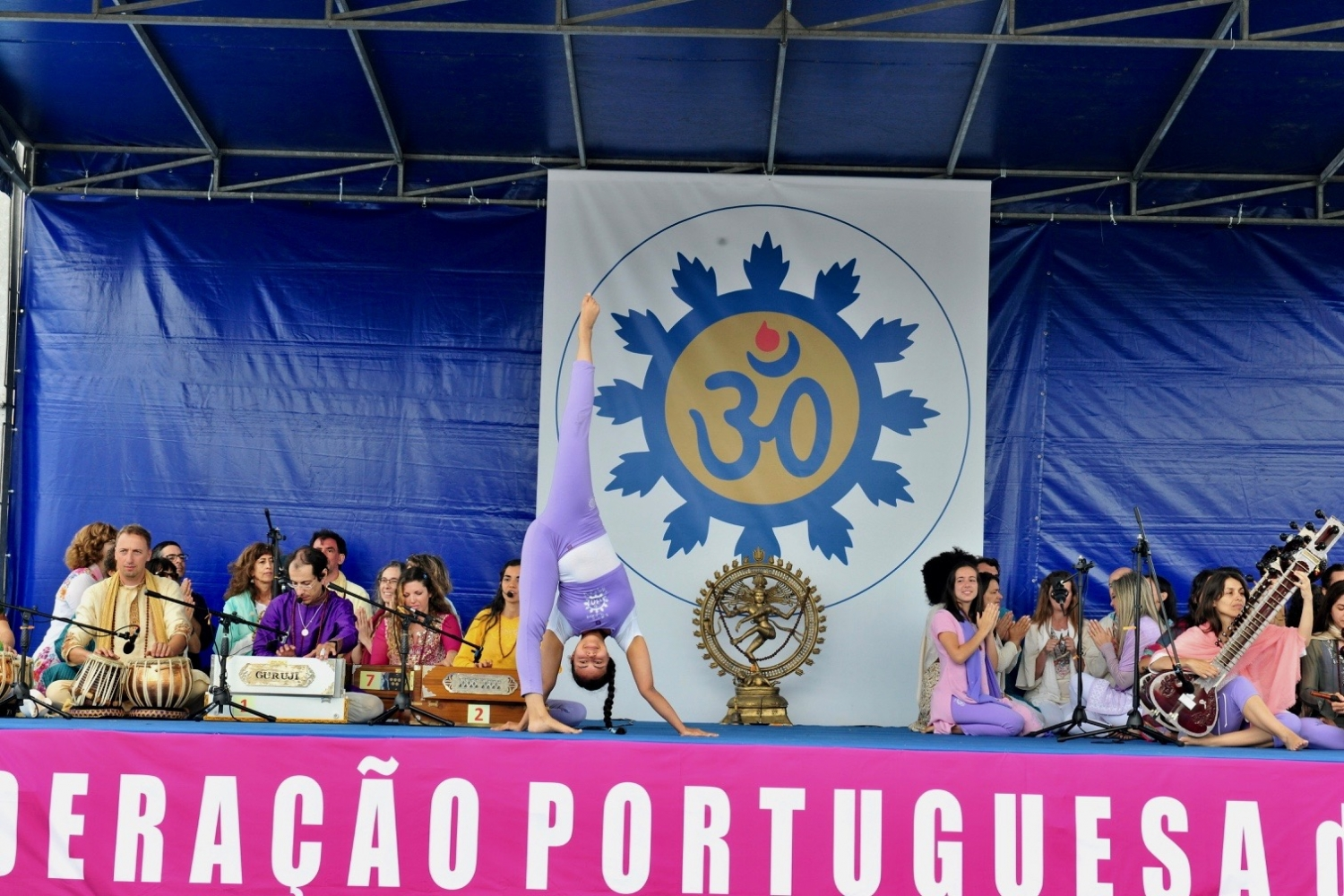 Conmemoración del International Day of Yoga - IDY / Día Internacional del Yoga - 2017 - Lisboa, Portugal