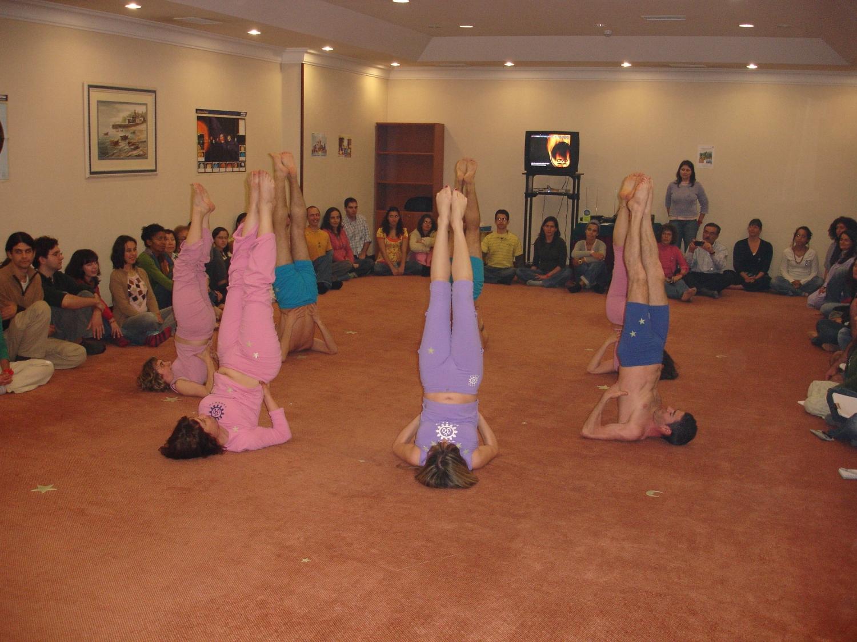 Abertura do 2º Encontro Ibérico do Yoga