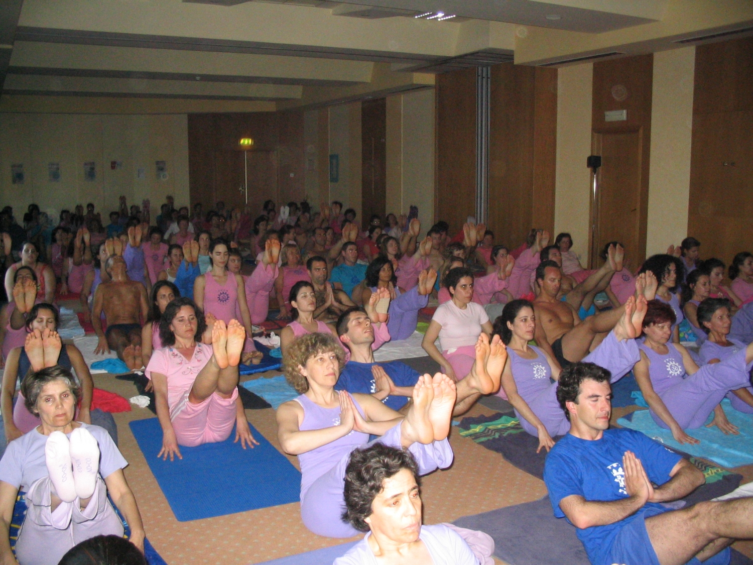 Encontro Nacional do Yoga - Faro - 2006, Abril, 7 a 9