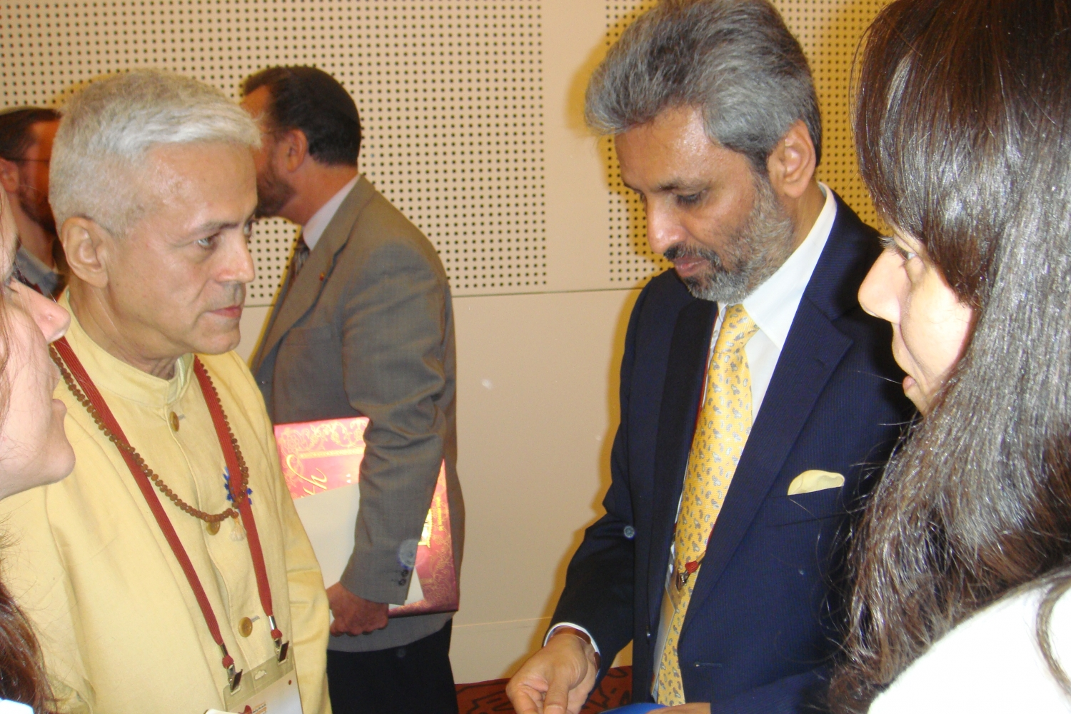 Bawa Jain - Secretário Geral do World Council of Religious Leaders