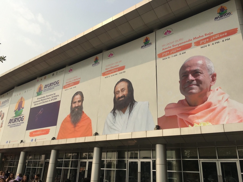 AYURYOGA Expo - India, Greater Noida - 2019, noviembre, 7 a 10