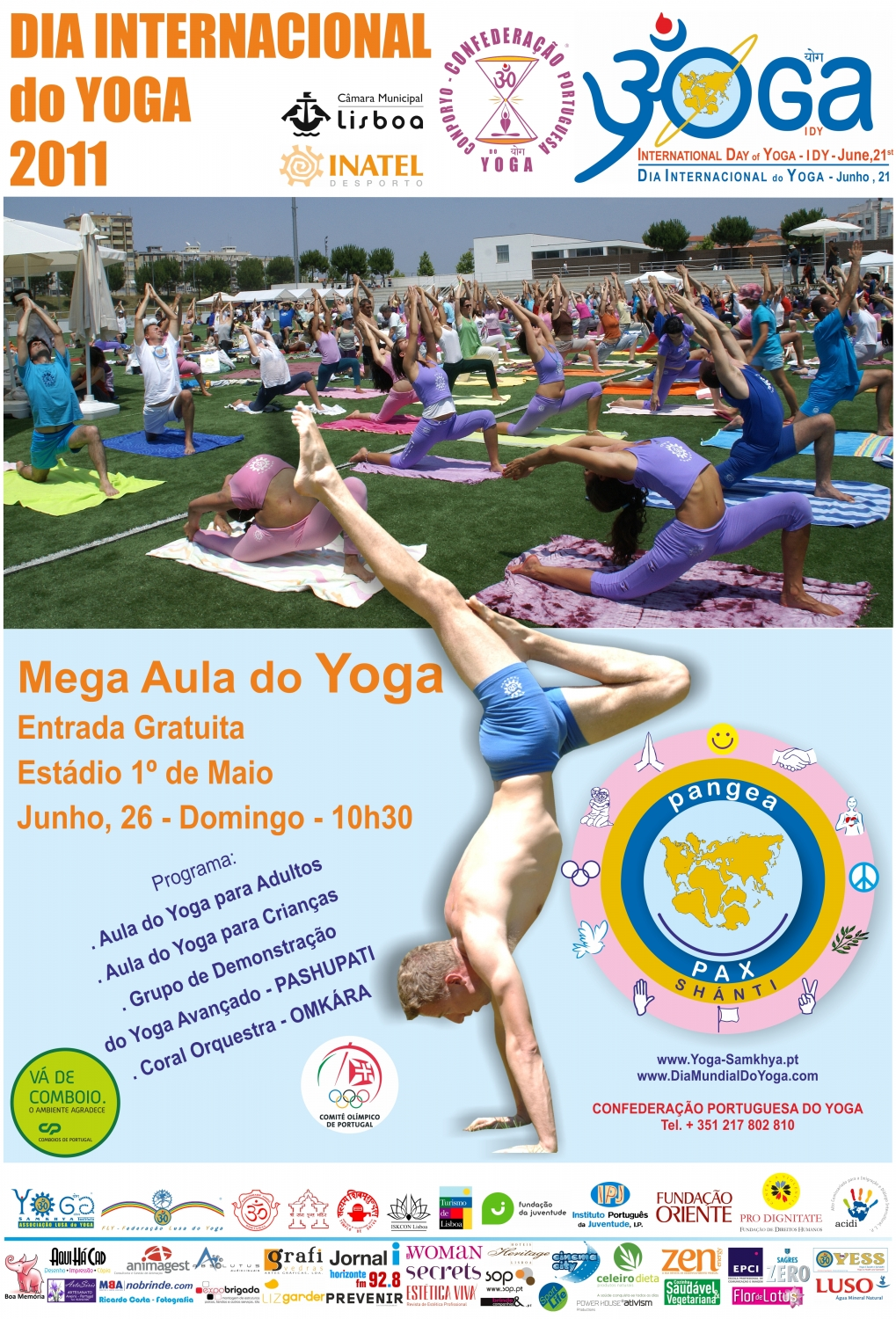 International Day of Yoga - IDY - 2011, Lisboa