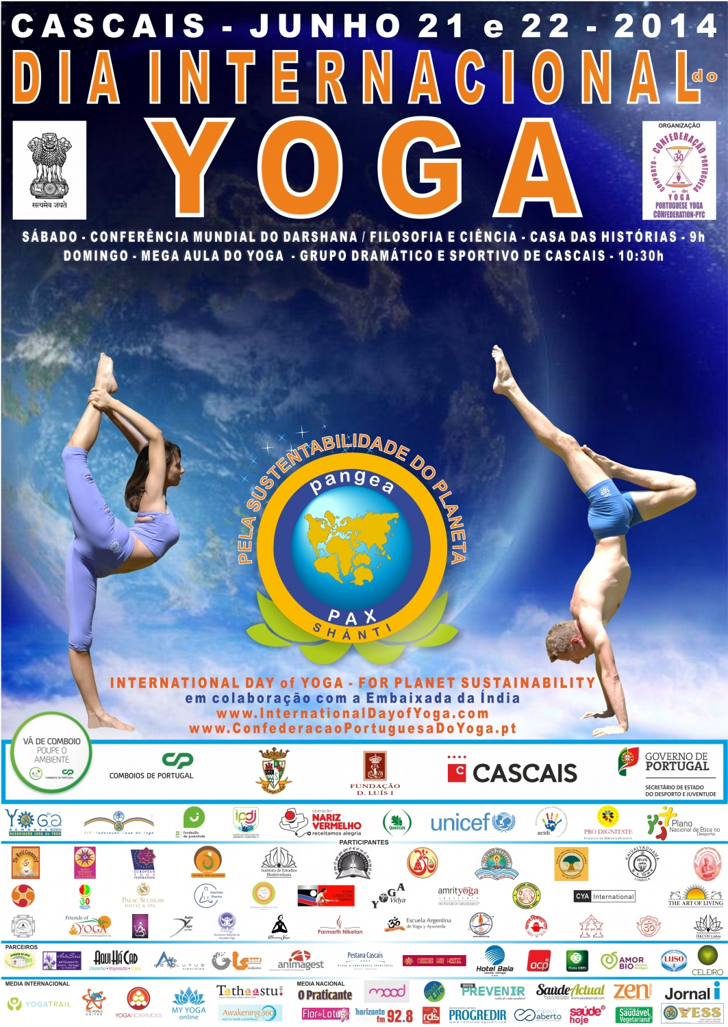 International Day of Yoga - IDY - 2014, Cascais