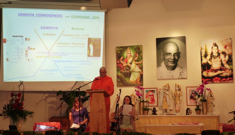 1er Congreso Europeo del Yoga - Conferencia del Guru Jí