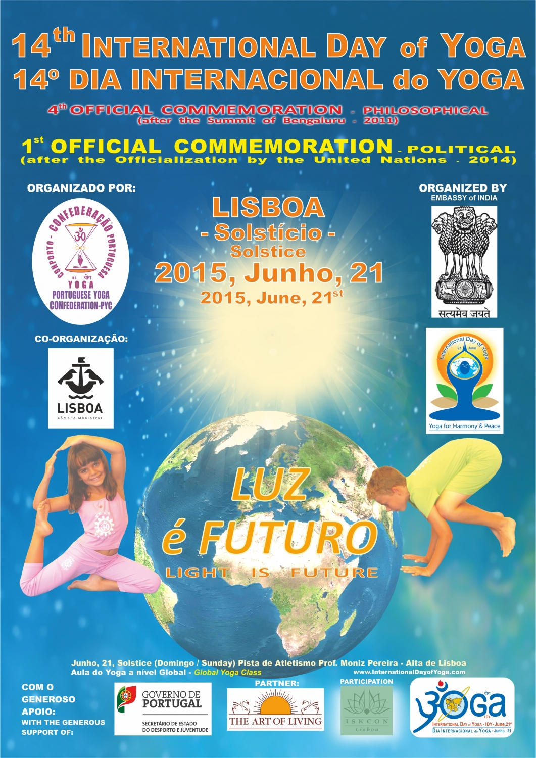 International Day of Yoga - IDY - 2015, Lisboa