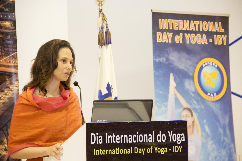 H.H. Sváminí Chandra Shakti Deví Mahá Rája - Vice-President of the Portuguese Yoga Confederation