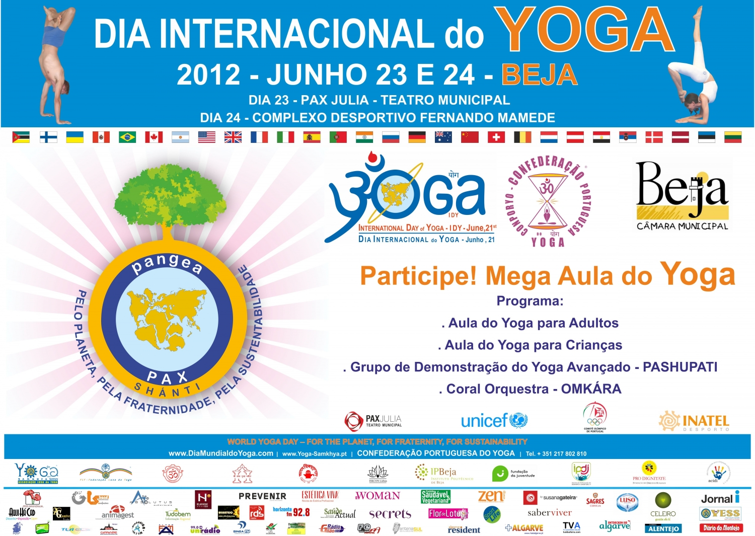 International Day of Yoga - IDY - 2012, Beja