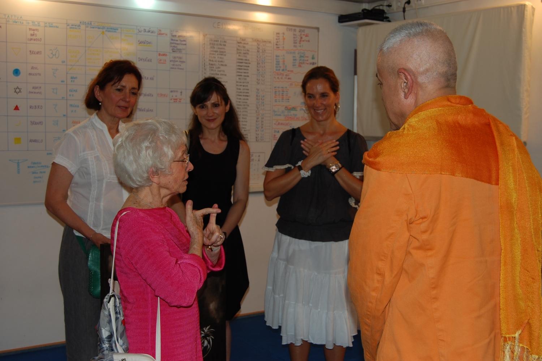 Recepción de los Maestros invitados al Día Internacional del Yoga en la Sede de la Confederación Portuguesa del Yoga, Lisboa – 2011