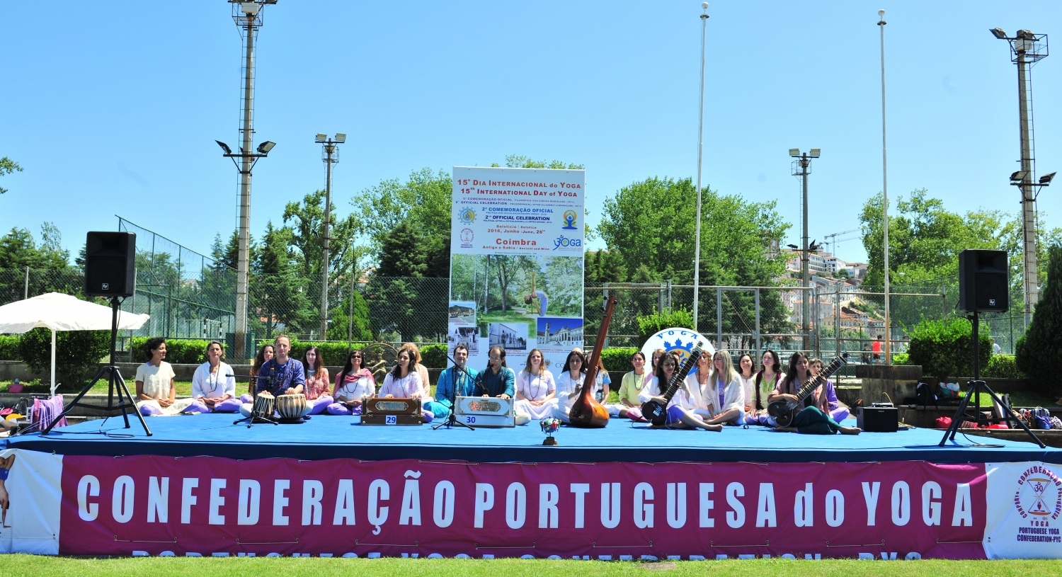 International Day of Yoga 2016, Coimbra