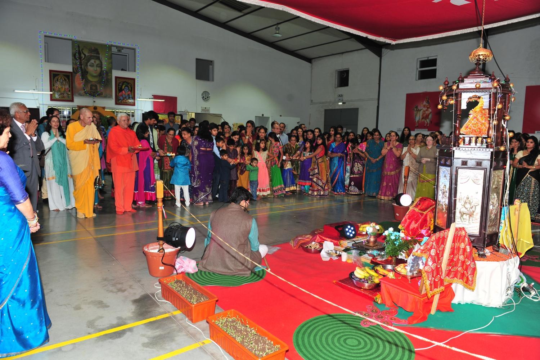 Navaratri no Templo de Shiva - Stº António dos Cavaleiros - 2016, Outubro, 4