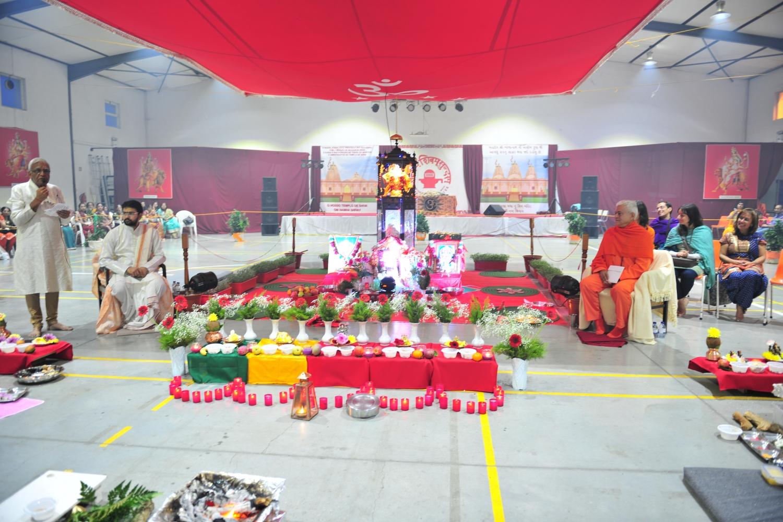 Yagya e Árati no Templo de Shiva - Stº António dos Cavaleiros - 2016, Outubro, 11