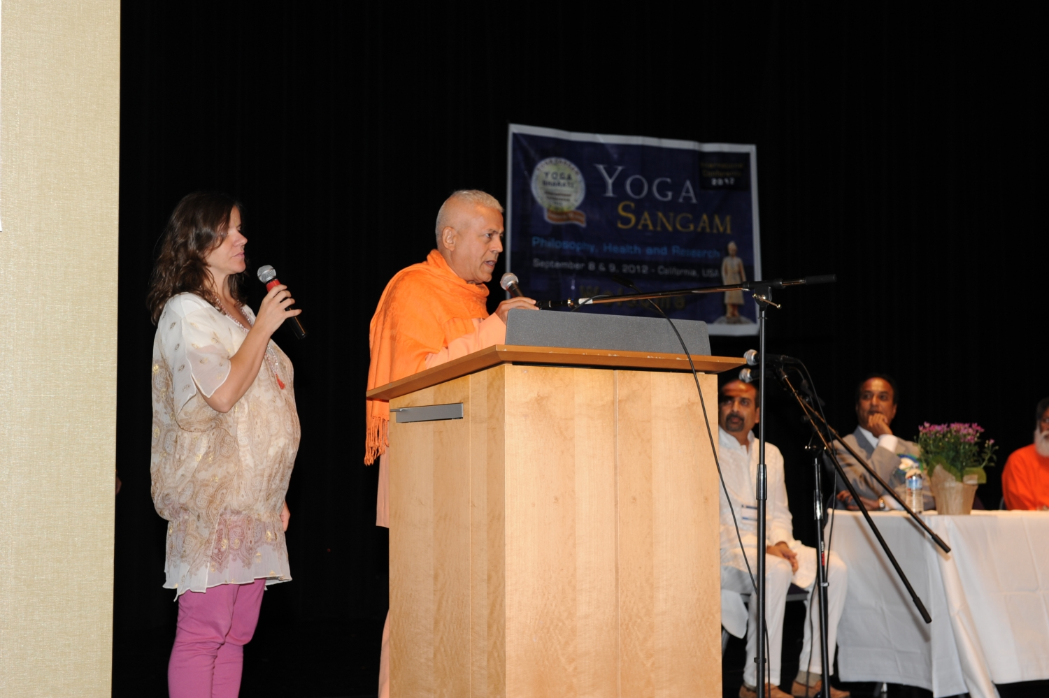 Yoga Sangam, International Yoga Conference - Palo Alto, San Francisco, Califórnia - 2012, Setembro
