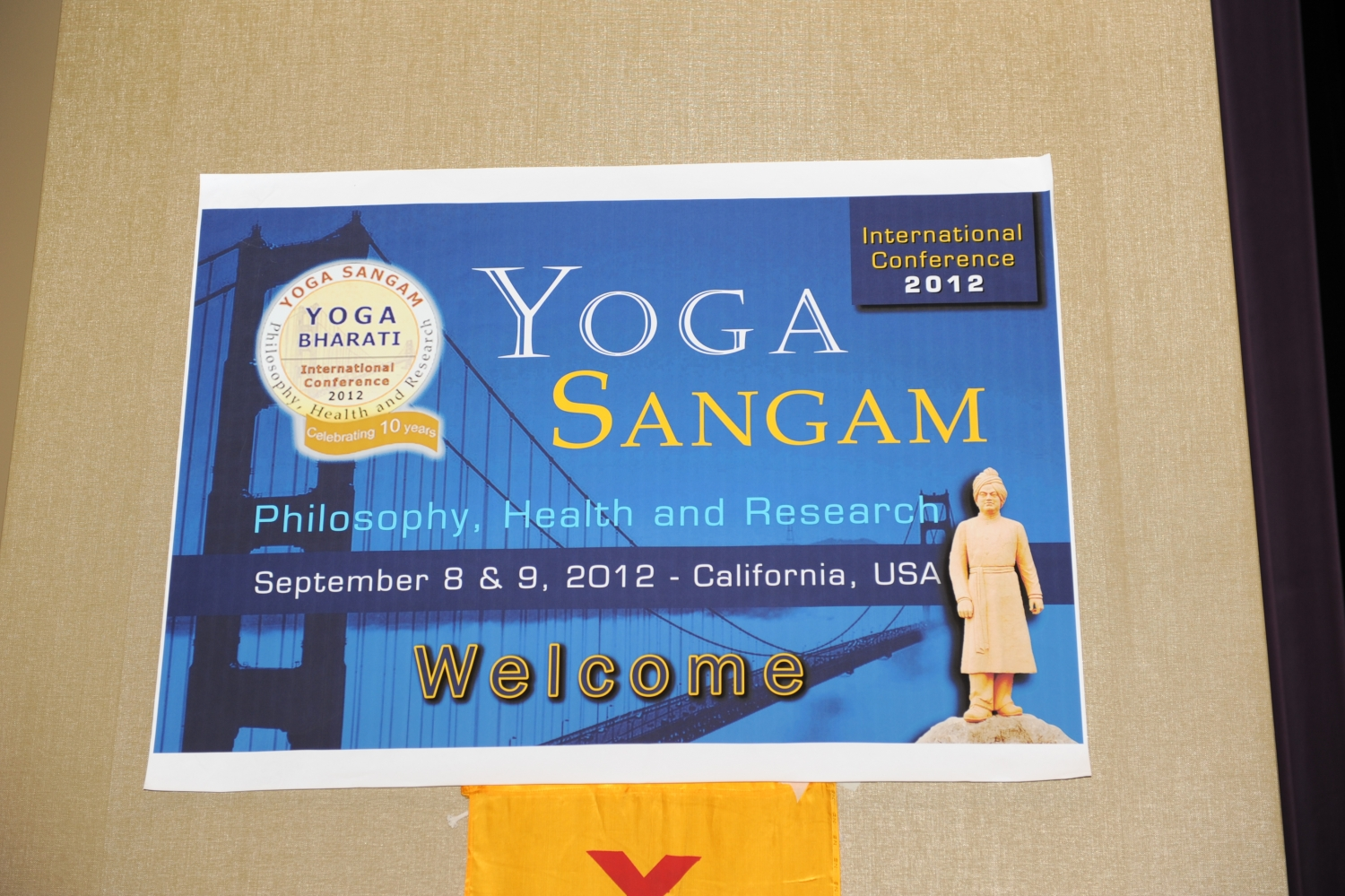Yoga Sangam, International Yoga Conference - Palo Alto, San Francisco, California - 2012, Setptember